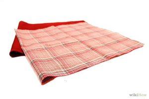 Bước 2: Chuẩn bị vải làm túi xách