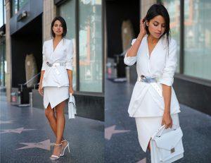 Không lo lỗi mốt với túi xách màu trắng