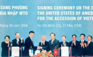 Vì sao Việt Vam gia nhập WTO