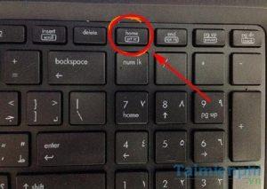 Cách chụp màn hình laptop Dellwin 7