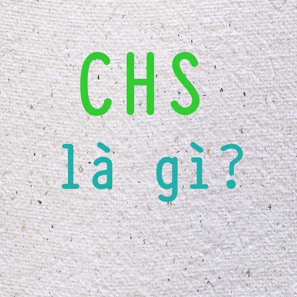 CHS là gì? CHS là viết tắt của từ nào?