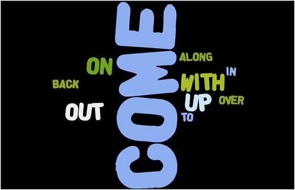 """Một số cụm từ đi với """"come up"""" thường gặp"""