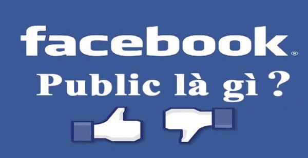 Public là gì? Public trên facebook có nghĩa là gì