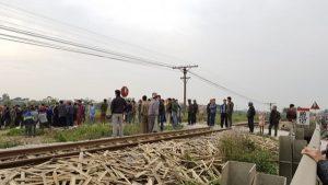 Hiện trường vụ tai nạn tàu hỏa thảm khốc