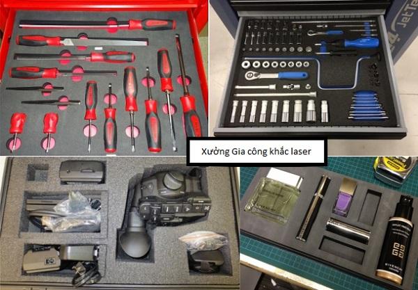 Cắt mút xốp bằng laser giá rẻ theo yêu cầu tại Hà Nội