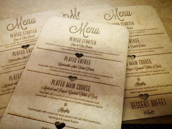 Làm menu gỗ có gì khác với menu thường?