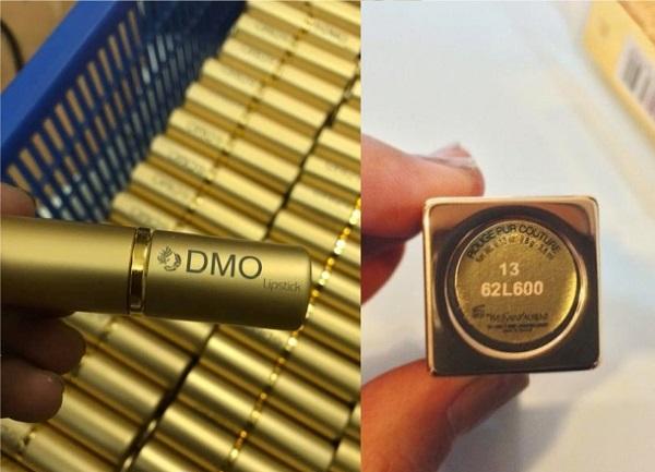 Khắc chữ, khắc logo lên son môi bằng laser giá rẻ