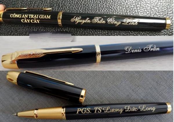 Khắc chữ lên bút máy bằng công nghệ laser ở đâuKhắc chữ lên bút máy bằng công nghệ laser ở đâu