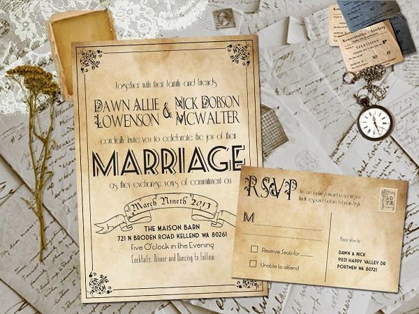 Xu hướng làm thiệp cưới laser khác gì với thiệp cưới truyền thống?