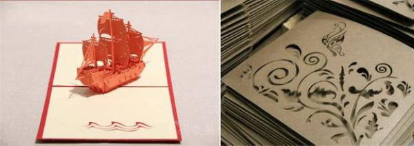 Xưởng cắt giấy bằng laser giá rẻ lấy ngay tại Hà Nội