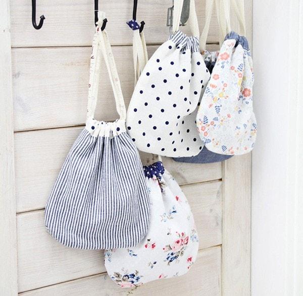 Cách làm túi xách bằng vải xinh xắn chỉ với 5 bước