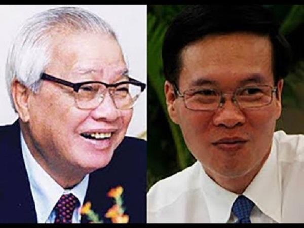 Thông tin về Võ Văn Thưởng cháu Võ Văn Kiệt thủ tướng