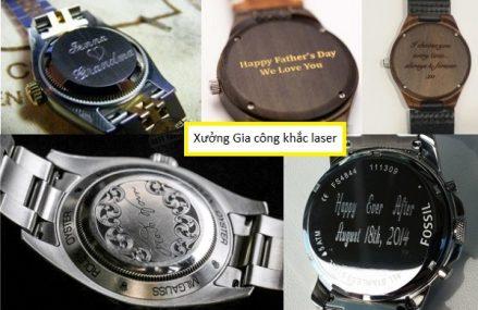 Khắc tên lên đồng hồ đeo tay giá rẻ lấy ngay tại Hà Nội