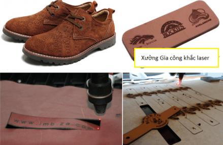 Khắc tên lên giầy dép da giá rẻ lấy ngay tại Hà Nội