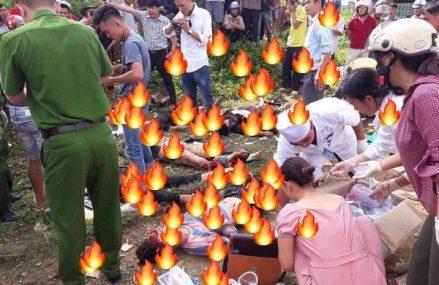 Tai nạn thảm khốc tại Lai Châu khiến ít nhất 10 người chết tại chỗ