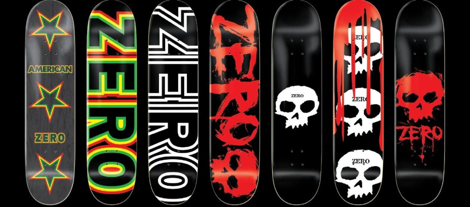 Kiểu dáng ván trượt Zero Skateboard
