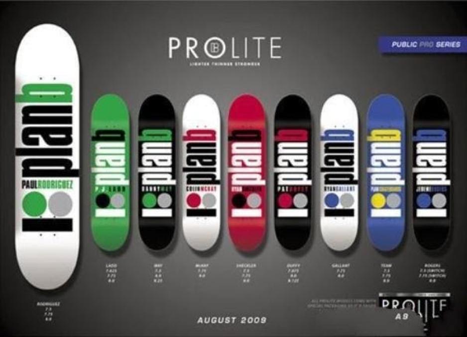 Kiểu dáng ván trượt Plan B Skateboard đơn giản, chất lượng đảm bảo