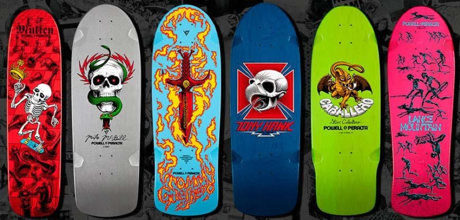 Ván trượt Powell Skateboard đa dạng kiểu dáng, phù hợp mọi phong cách