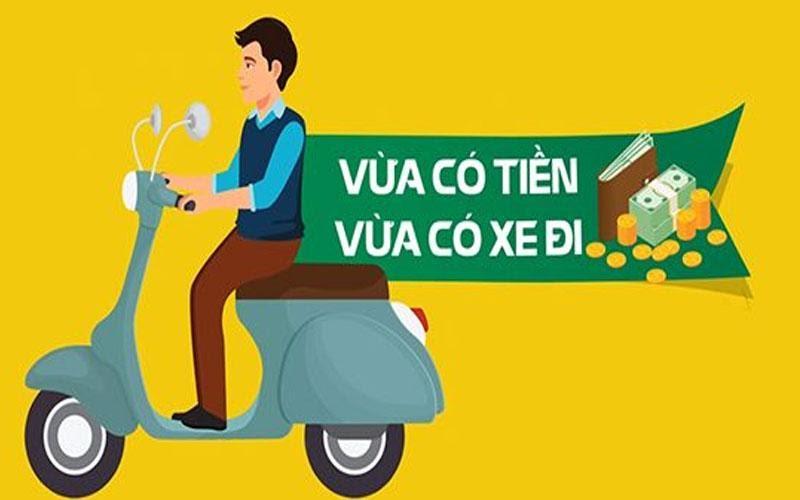 Vay theo giấy đăng ký xe máy vừa nhanh, vừa có tiền lại vừa có xe đi